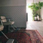 床とタイルと絨毯と。